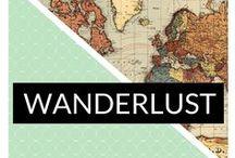 Wanderlust / Travel friendly pins