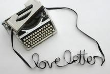 ・Letters・ / by MariRuna
