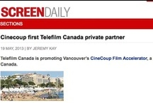 CineCoup in the News / Media coverage and blog posts about the CineCoup Film Accelerator, a disruptive model for indie filmmakers to develop, market and finance their feature films. Ultimately, the Top 10 projects will be optioned for development. A jury of industry professionals will select one project for up to $1 million (CDN) in production financing and guaranteed release in Cineplex theatres in January 2014. http://cinecoup.com/