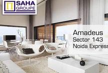 Saha Group Amadeus Sector 143 Noida / Saha Group launched New Project Amadeus sec.143 Noida Expressway. Amadeus Noida - Call us @ 9999011115 for immediate Booking in Saha Group Amadeus and Get Inaugural discount with Buniyad.com