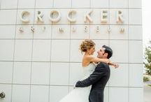 Weddings at the Crocker / Interested having your wedding at the Crocker? Contact the Events Department at eventrental@crockerart.org