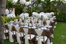 Garden Weddings / Ideas