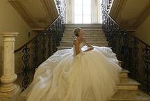 Ballroom/Cathedral / Dresses, churches, and details that make for a perfect ballroom setting.