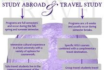 Study Abroad with WSU / Check out the various study abroad trips that our WSU students are taking!