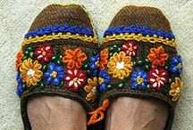 wear / traditional embroidery stitches applied to modern clothing