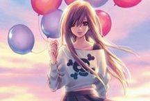 • Manga & Anime •