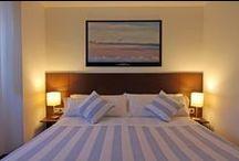 Habitación MONTE ULÍA / Habitación Doble Exterior con baño. Posibilidad de uso como habitación individual. Camas FLEX Multielastic.