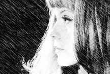 // Françoise Dorléac // / Un tour d'horizon de la mode, du maquillage, des coiffures portés par l'actrice Française Françoise D'orleac