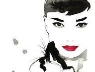 // Audrey Hepburn // / Compilations de divers looks d'Audrey Hepburn. Ses divers maquillages, coiffures et mise en beauté