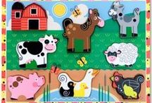 Farm puzzles / by Educational Toys Planet