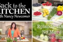 "My New TV Show! ""Back to the Kitchen with Nancy Newcomer"" / Live from my kitchen in Santa Barbara, I'll share my favorite recipes, ideas for entertaining, and inspiration for cooking with fresh organic ingredients. Watch ANYTIME via youtube and Geffner TV: http://www.youtube.com/playlist?list=PLPLLak6AIKtl0fOJ1WuGB_nFv1NFXi19o"