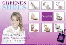 AMY HUBERMAN SHOES / SPRING SUMMER 2014 COLLECTION IN STORE AND ONLINE www.greenesshoes.com Greenes Shoes Limerick Greenes Shoes Galway Greenes Shoes Letterkenny