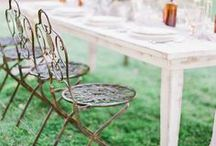Mariage - Vintage / Inspirations pour un mariage vintage, rétro...De jolis objets chinés, recyclés, pour une décoration et une ambiance tendance. www.artisevenement.fr