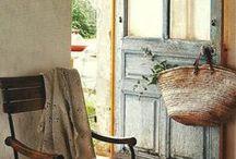 Maison de campagne / décoration, ambiance, mobilier