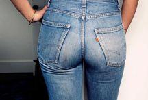 В джинсах...jeans / Style