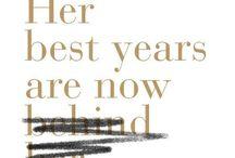 Цветущий возраст...The blossoming age / Старость - не радость?...