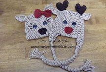 Crochet Hats / Tığ İşi Şapka
