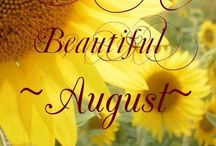 Август...August