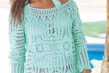 Crochet Shawls, Poncho's & Scarves