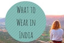 What to Wear Around the World / How to dress while travelling, from India to Colombia and everywhere in between.