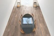 Modern Rustic / A blend of rustic and modern interiors with a Kährs floor to complete the look.