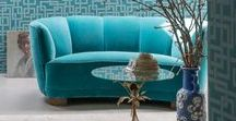Bohemian Soul Space / It's where interior design meets life coaching. Create a tranquil turquoise soul space to reboot, recharge and live the life your soul craves. compliment with a rustic gold and mix old with new furniture. Love this.   IngridMarsh.com The Soul Space Guru