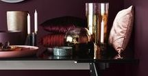 Decadent soul space / A mood board for those requiring a more decadent soul space to reboot, recharge and  to live the life their soul craves. Aubergine, deep plum, silver, gold and black, plus rich velvets to soothe your soul. Hygge inspired.   IngridMarsh.com