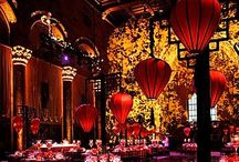 Oriental themed party