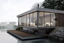Modern . Minimal . Clean / Yeahh lets try to build contemporary home. Next project. Promise. XD