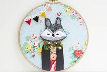 Hoopalicious / Hoop Embroidery Inspiration
