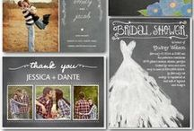 wedding invitations  / kaarten, enveloppen