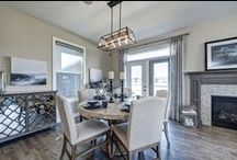 Our Dining Room Designs / A little taste of some of our dining room designs in various showhomes.