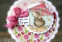 Card Layouts with Circles / by sue sue
