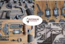 Akcesoria meblowe w rustykalnym stylu / Okucia meblowe, do kupienia w sklepie internetowym  www.rustykalneuchwyty.pl