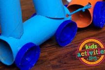 Train activities and crafts / Train activities and crafts for babies, toddlers and kids