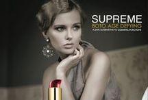 Supreme / Algunas innovaciones crean profundos cambios y esta preciosa, excepcional y profesional línea del cuidado de la piel es una de ellos.