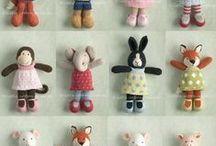 pletené hračky