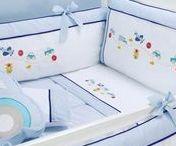 vyšívání do postýlky, postele