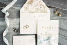 WEDDING invitations / invitation suites, letterpress wedding invitations