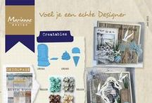 Marianne Design / Marianne Design is a dutch brand for attractive products like Creatables (dies), Collectables (dies), all kind of stamps, ribbons, etc.