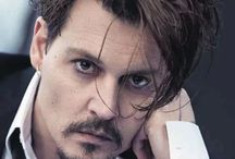 Celebs : Johnny Depp / No explanation required!  I love Johnny.  What is it about this man that has half the females in the world wanting his shoes under their beds????  Apologies for any duplications, or even duplicate duplications - just want to pin everything on Johnny.