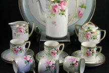 Collectables : Delicate China / Exquisite teacups, saucers, plates, tea and coffee pots, bowls.  We simply use mugs now and rarely see these beautiful sets.