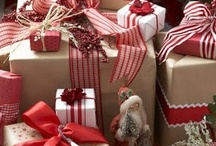 Creativity : Gifts & Presentation Ideas / Presents : boxes, bags, bows, ribbons, pretty cards and wrapping paper.  Everything that makes a gift extra special.
