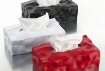 Wipy II / With crumpled surfaces visually communicating the content inside Wipy ll is now launched as cover for the rectangular tissue boxes.