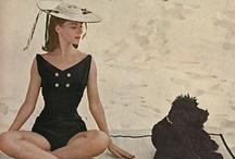 At the sea-side / Bathing fashion, swimwear.  / by Jeannette Huij