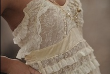 Lace Clothing and Upcycled clothing / by Jane Fox