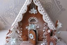 Cakes : Gingerbread Houses & Cookies
