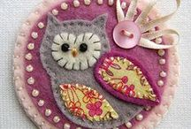 Owls I've collected / Moved the crochet Owls here.cj / by Judyth Lutt