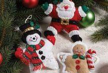 Christmas : Felt Ornaments