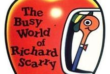 Books : Richard Scarry / Memories of childhood with these wonderful books, which my kids had too, and now I have bought one for my Granddaughter.  I hope she will love them as much as we all did.